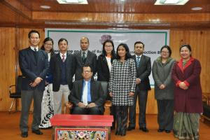 "A workshop on ""Role of Referral Judges under Section 89, CPC, 1908 with reference to Mediation"" for Judicial Officer of Sikkim Judicial Service on 3-12-2016"